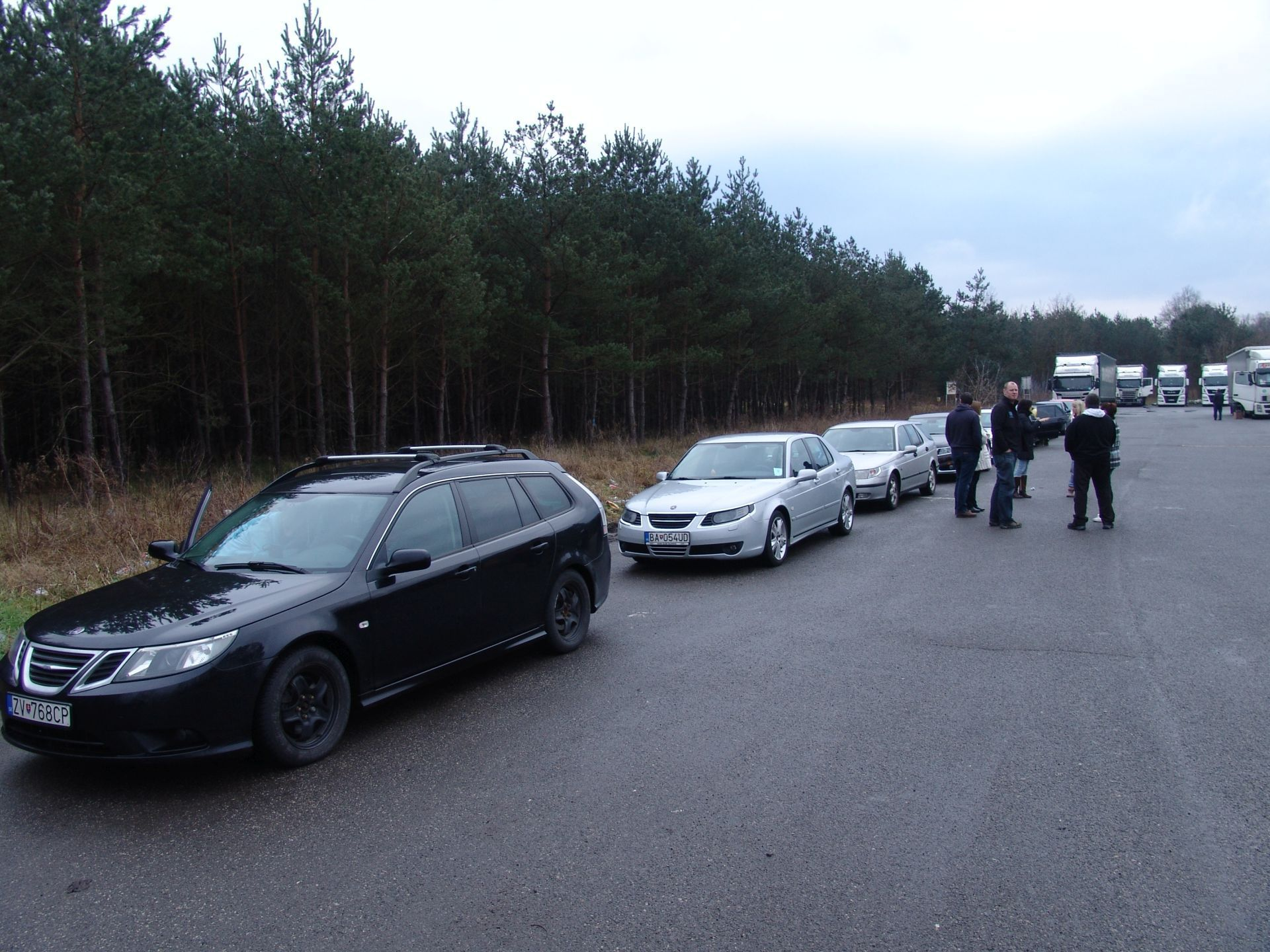 SAAB SUPPORT CONVOY 2015