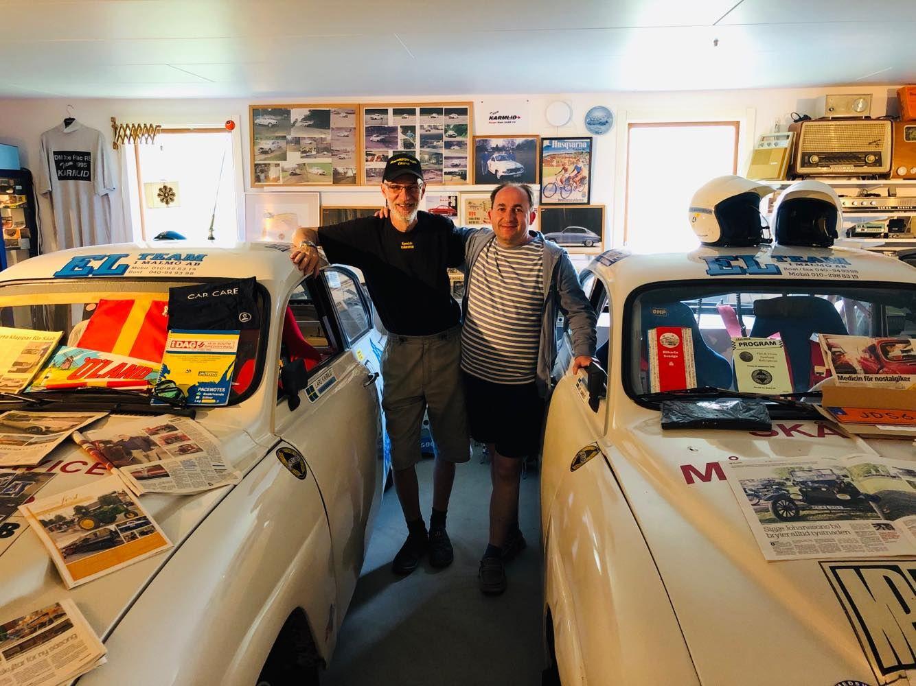 Larsova garáž na ostrove Oland